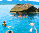 Enjoy snorkelling with a group by Lantaresort.com